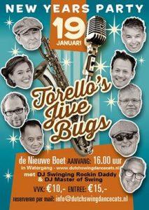 Torello's Jive Bugs, De nieuwe Boet, Swing, Jive, Rock and roll, Boogie Woogie, Live muziek