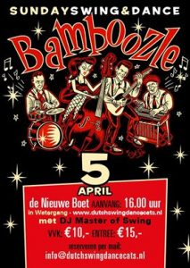 Sunday Swing, Bamboozle, Jump Up, Boogie Woogie, Rock and Roll, Rockabilly, Swingdance, Jive, Live Music